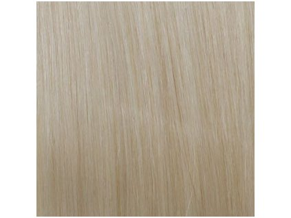 Exkluzívne clip in vlasy - odtieň 60 dlhé 50cm váha vlasov 100g