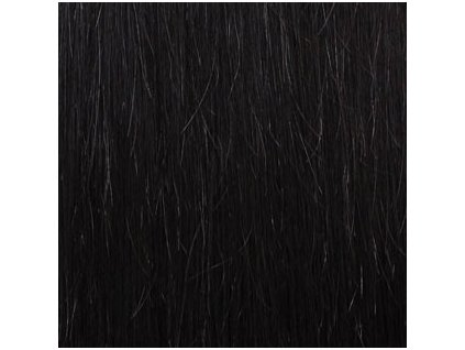 Exkluzívne clip in vlasy - odtieň 1B dlhé 60cm váha vlasov 120g