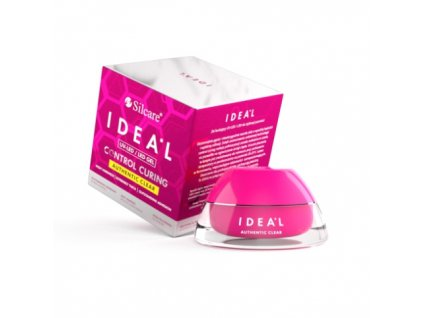 Gél na nechty- IDEAL UV - LED - clear 15g Silcare