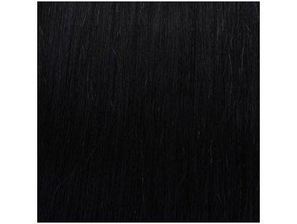 REMY vlasy keratín #1 čierna