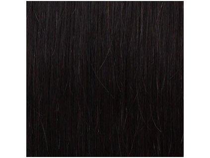 REMY vlasy keratín #2 najtmavšia hnedá