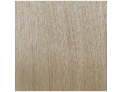 REMY vlasy keratín #60 platinová blond