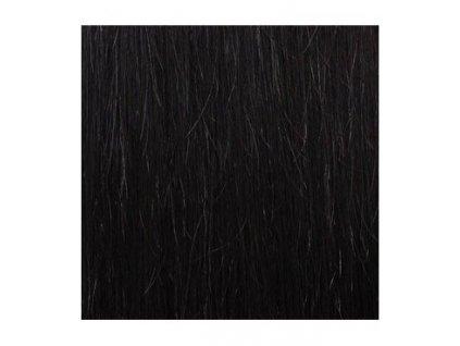 Micro loop remy vlasy 60cm farba 1B