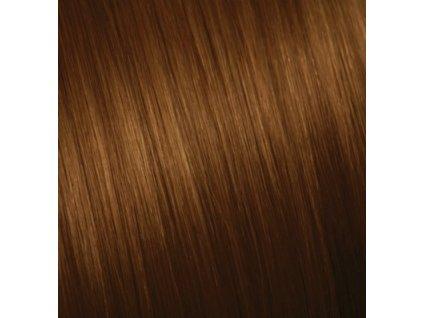 Ruské vlasy - SLABO HNEDÁ 70-75cm 10g