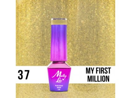 GEL LAK Molly Lac QUEENS OF LIFE MY FIRST MILLION 5ml Nr 37