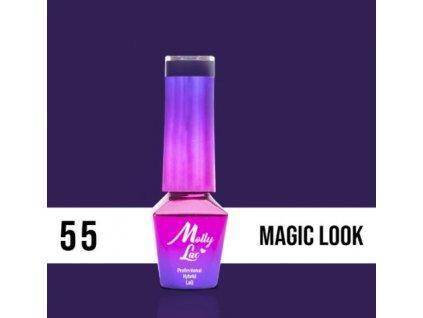 GEL LAK Molly Lac INSPIRED BY YOU MAGIC LOOK 5ml Nr 55