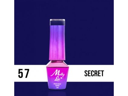 GEL LAK Molly Lac INSPIRED BY YOU SECRET 5ml Nr 57