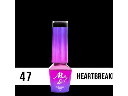 GEL LAK Molly Lac ELITE WOMEN HEARTBREAKER 5ml Nr 47