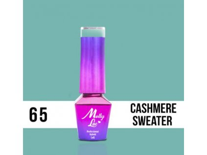 GEL LAK Molly Lac DELICATE WOMAN CASHMERE SWEATER 5ml Nr 65