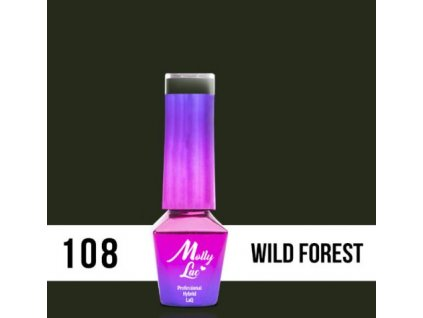 GEL LAK Molly Lac Pure Nature Wild Forest 5ml Nr 108
