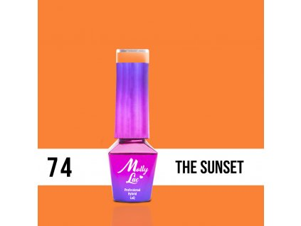 lakier hybrydowy molly lac women in paradise the sunset 5ml nr 74