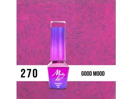 GEL LAK MollyLac Pupils Good Mood 5ml Nr 270