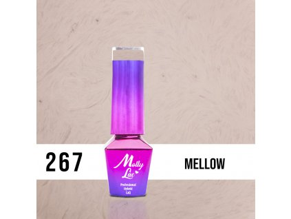 GEL LAK MollyLac Pupils Mellow 5ml Nr 267