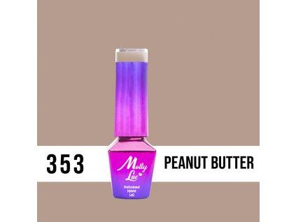 lakier hybrydowy molly lac choco dreams peanut butter 5ml nr 353 (1)