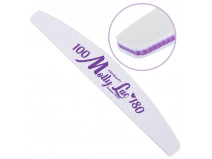 pilnik do paznokci bezpieczny pakiet mollylac lodka fioletowy srodek 100180 cu 5