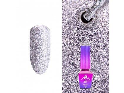 GÉL LAK MollyLac Luxury Glam Mr Silver 5 ml Nr 546