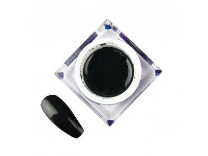 zel kolorowy do zdobien artistic gel mollylac art black czarny 5 g nr 4