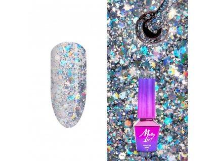 GÉL LAK MollyLac Crushed Diamonds Dreaming in Vegas 5 ml Nr 538