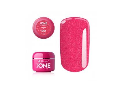 Silcare farebný uv gél 5ml neon candy pink 29