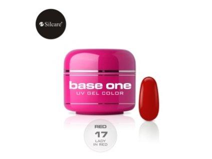 Silcare farebný uv gél 5ml - Red colection 17