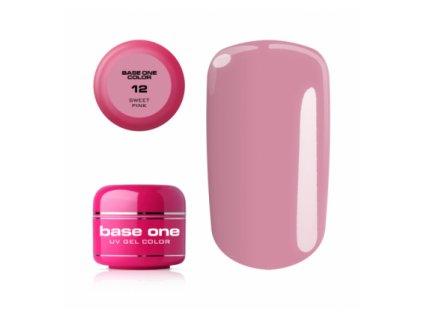 Silcare farebný uv gél 5ml - noname sweet pink 12