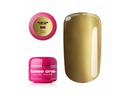 Silcare farebný uv gél 5ml - base one gold vixen 96