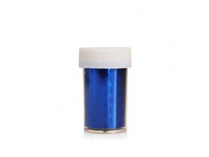 Nail art fólia 2m v nádobke modrá 2