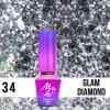 GEL LAK Molly Lac QUEENS OF LIFE GLAM DIAMOND 5ml Nr 34
