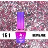GEL LAK Molly Lac Molly Lac Gem & Silver Be Insane 5ml Nr 151