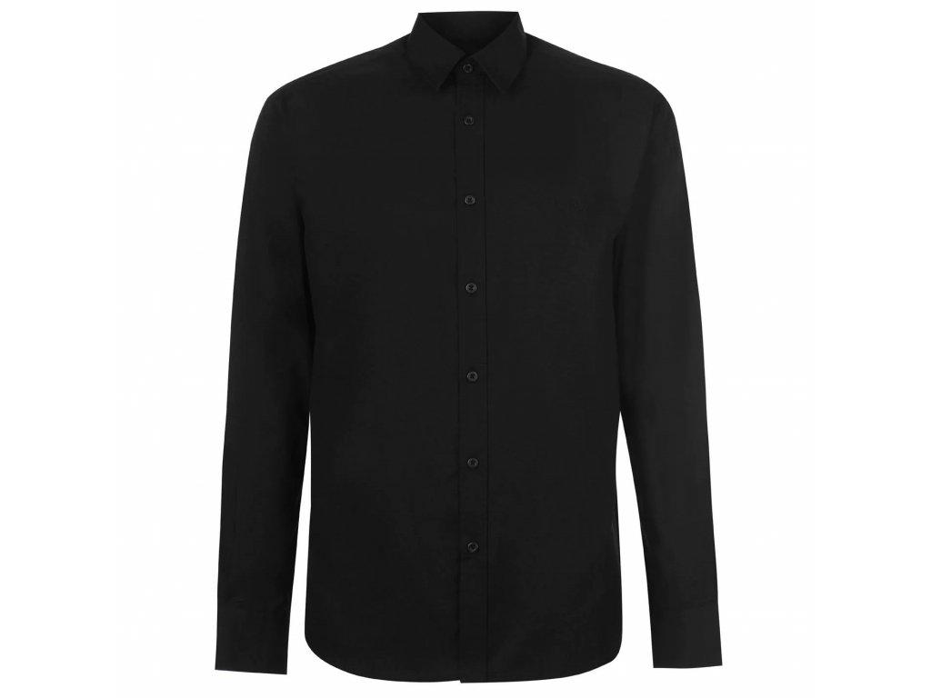 Pánská Košile s dlouhým rukávem Pierre Cardin Černá