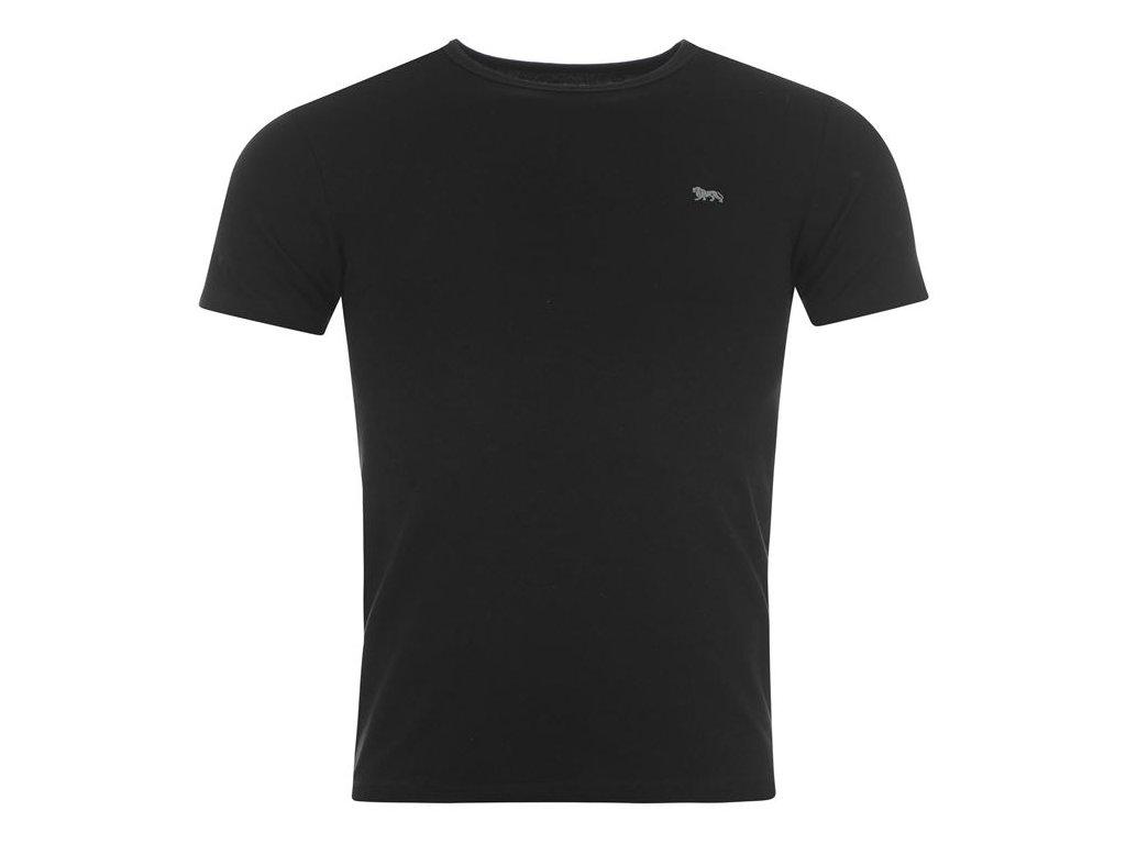 Pánské triko Lonsdale Sing Černé