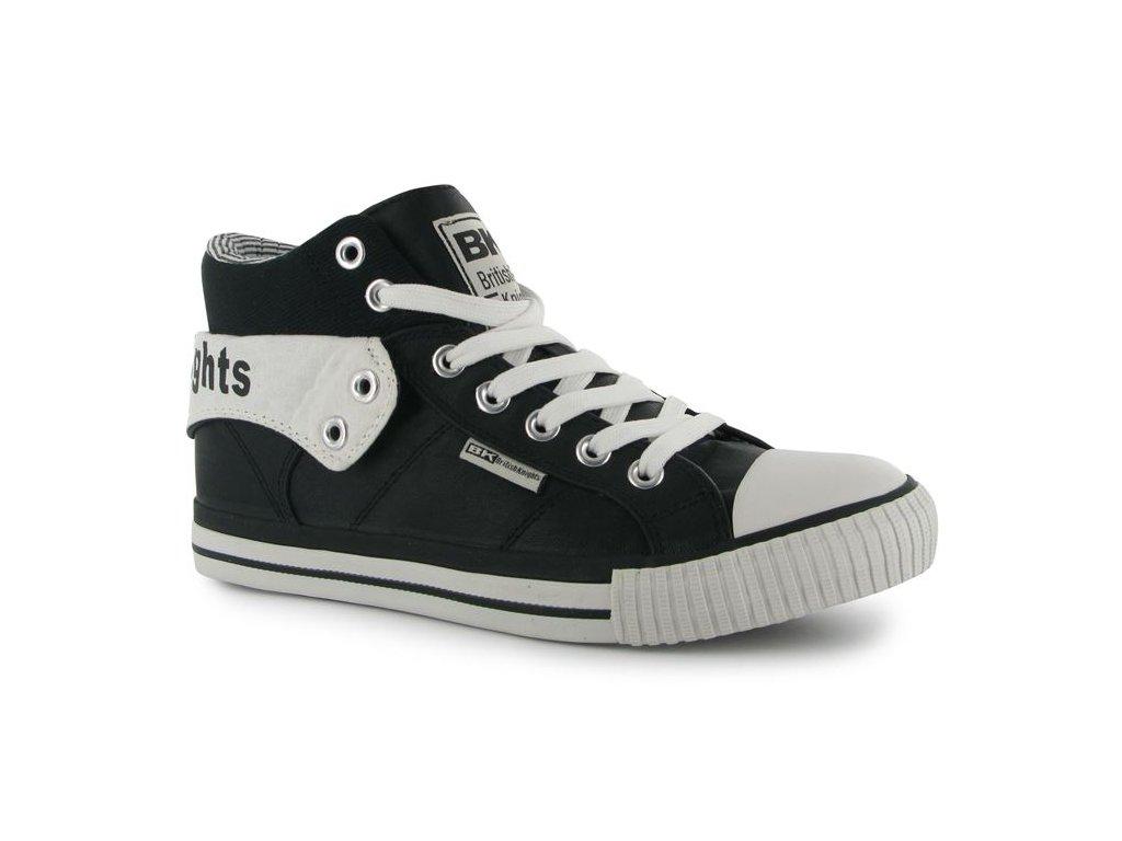 Pánské boty British Knights Roko Černobílé