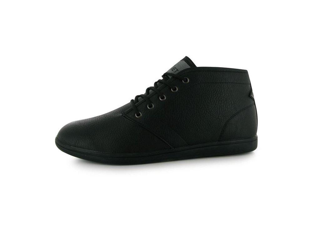 Pánské boty Soviet Whitehall Černočerné