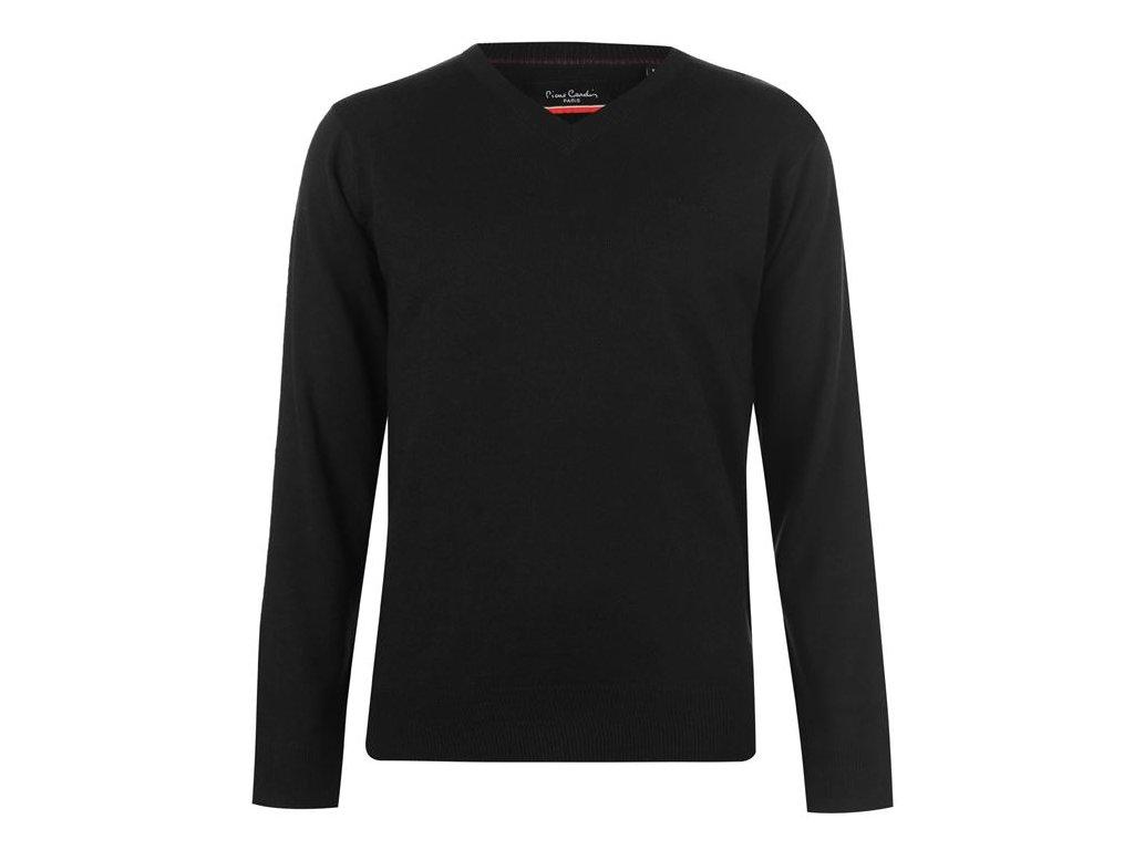 Pánský svetr Pierre Cardin V Černý