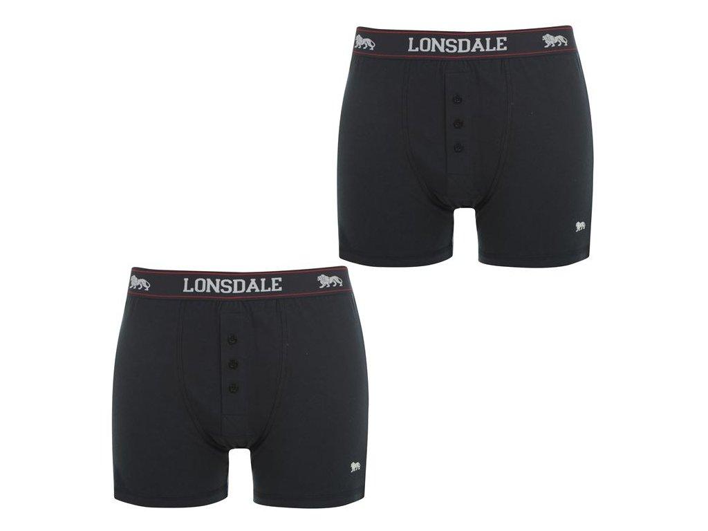 Boxerky Lonsdale 2 v balení Navy