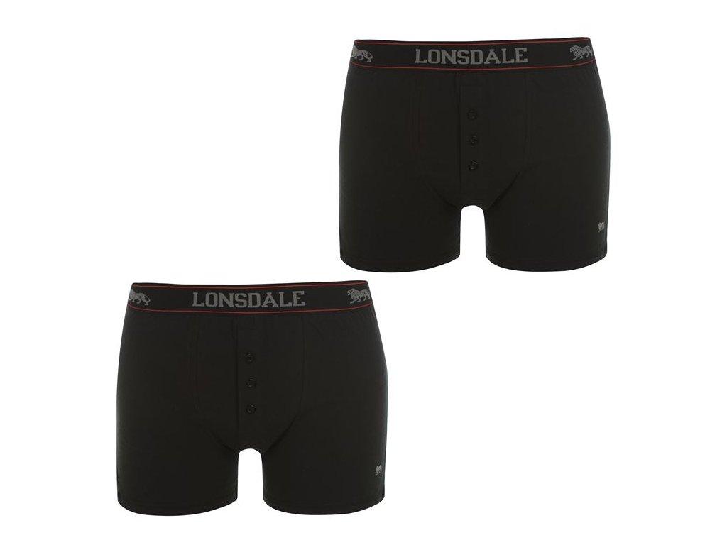 Boxerky Lonsdale 2 v balení Bla