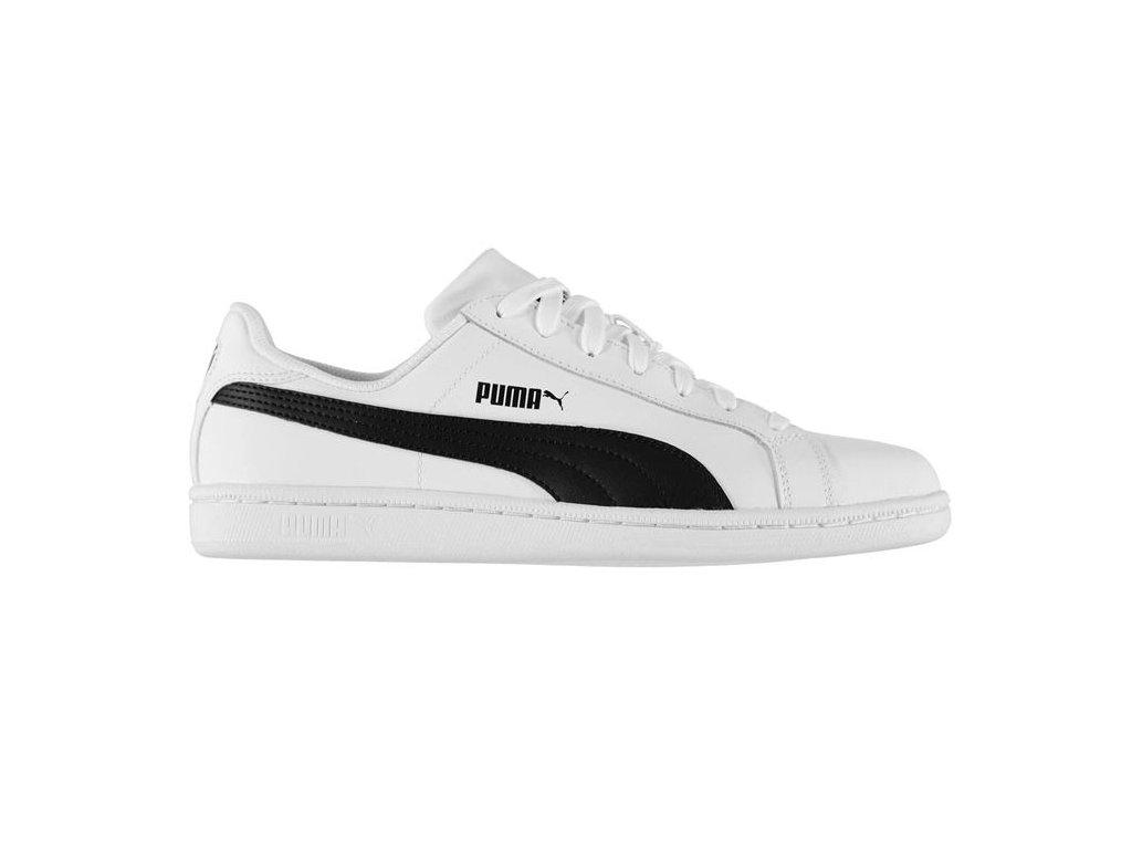 Pánské kožené boty Puma Smash Bílé