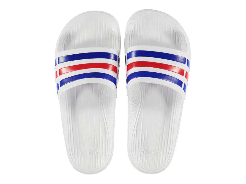 Pánské pantofle adidas Duramo Bílé