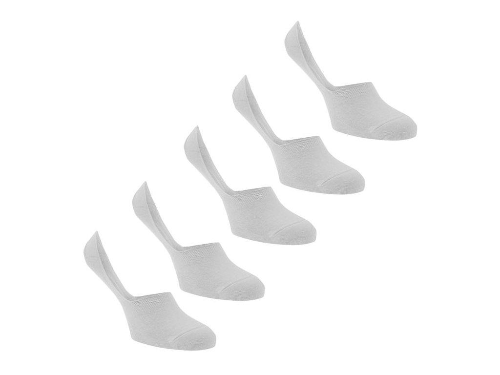 Pánské neviditelné ponožky Soviet Secret Bílé