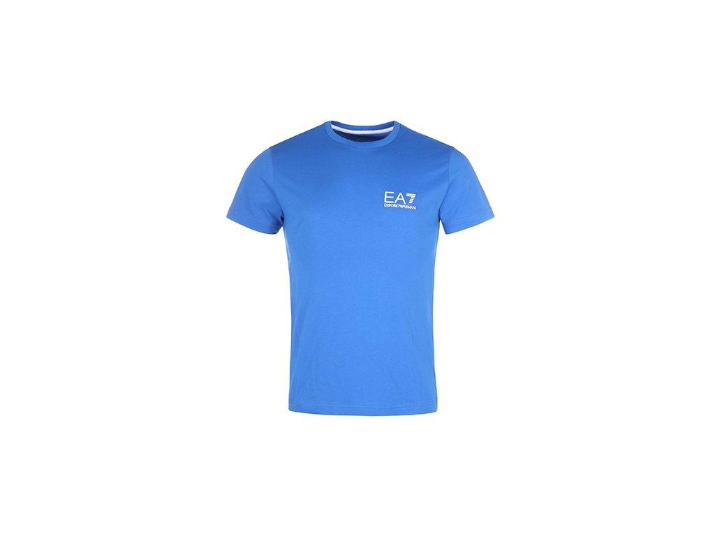 Pánské triko Armani EA7 Modré