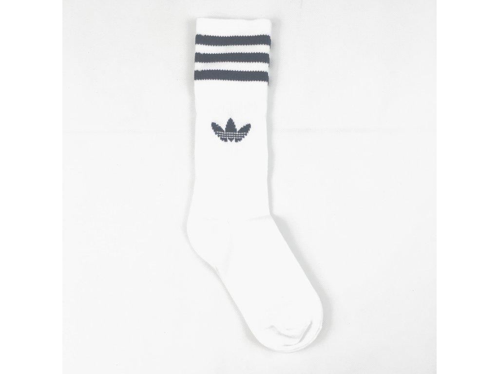 Ponožky adidas Originals Crew Bílé