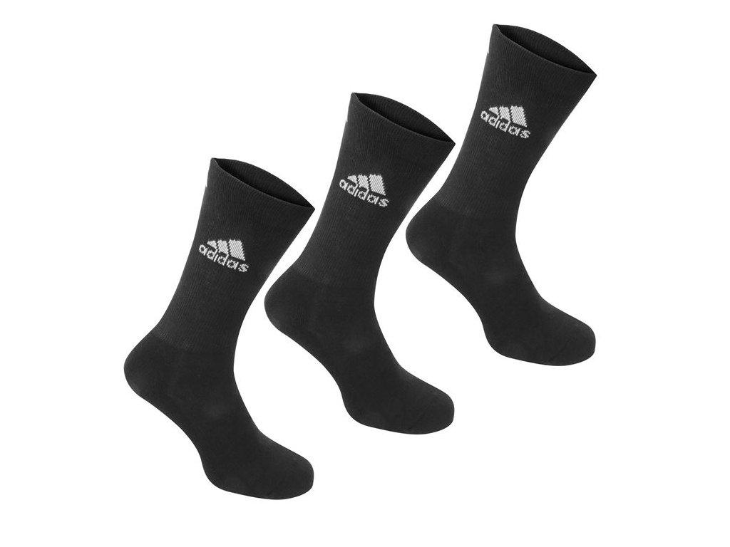 Ponožky adidas Golf 3 Ks Černé
