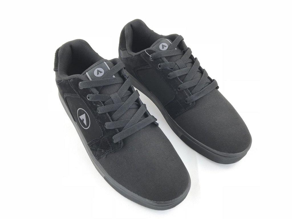 Pánské kožené boty Airwalk Muske Černé