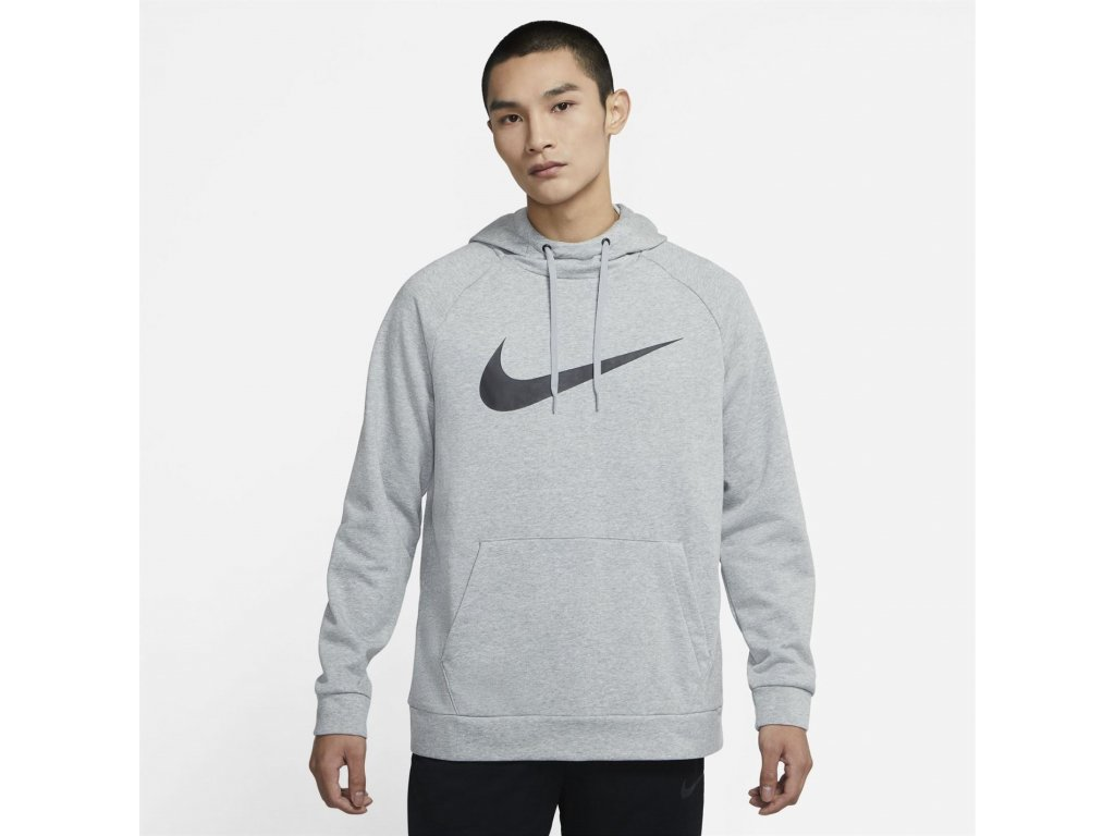 Pánská mikina Nike Dry Šedá