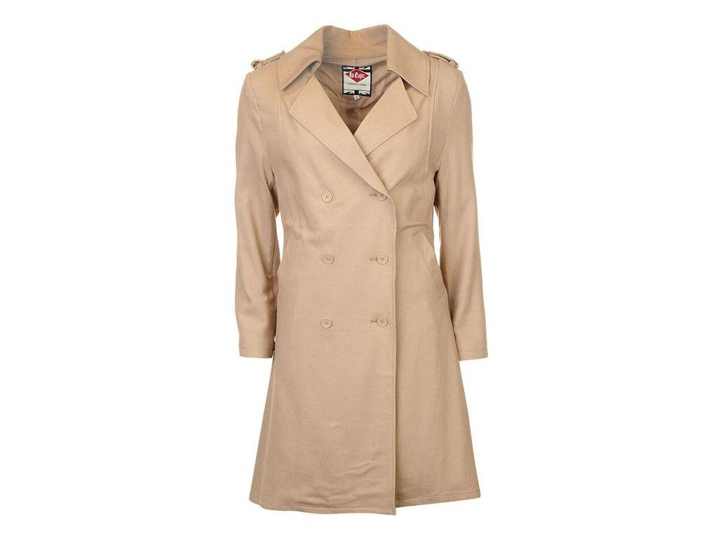 Dámský kabát Lee Cooper Trench Béžový