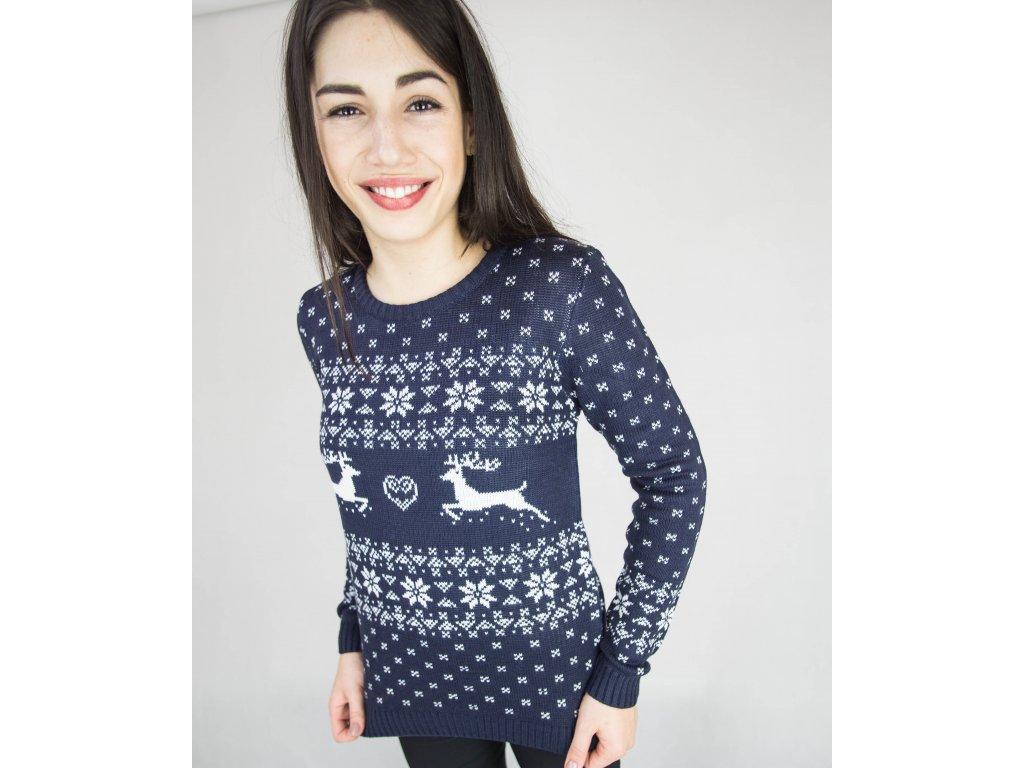 Dámský vánoční svetr Dreamstock S jelenem