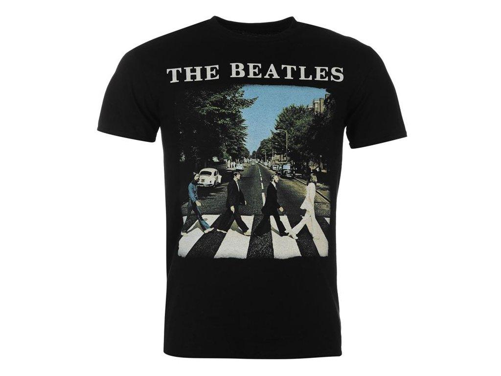 Pánské triko Dreamstock Original Official The Beatles Abbey Road