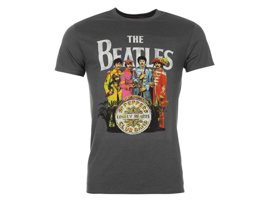 Pánské triko Dreamstock Original Official The Beatles Pepper