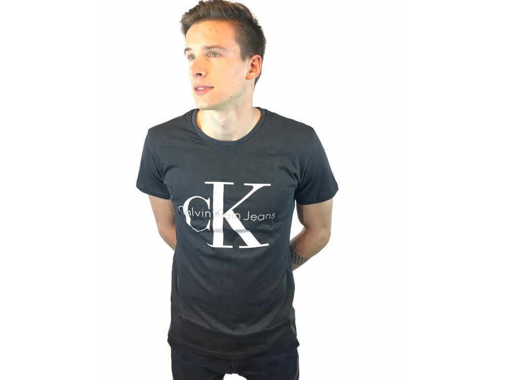 Pánské triko Calvin Klein Short Černé