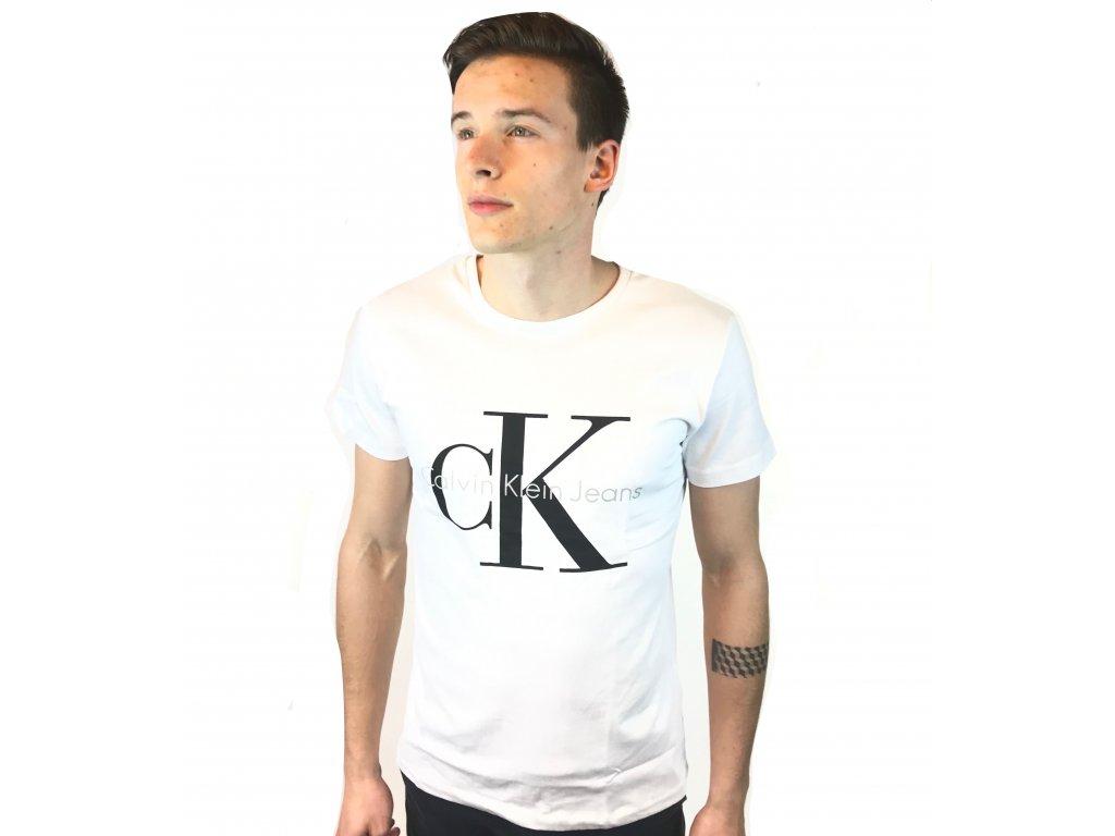 Pánské triko Calvin Klein Short Bílé